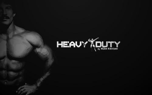 heavy duty di mike mentzer