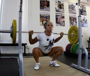 squat in zone training